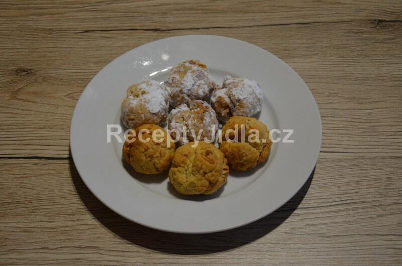 Řecké cukroví - kulaté sušenky