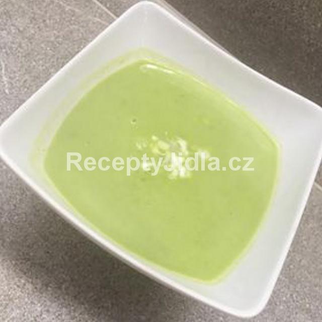 Hráškový krém - polévka
