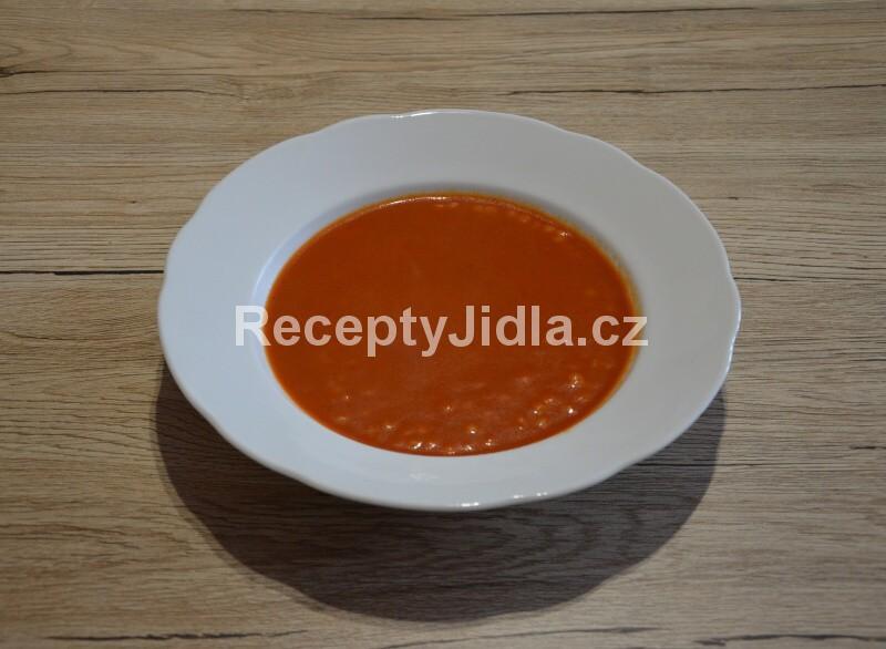 Rajská polévka s těstovinovou rýží