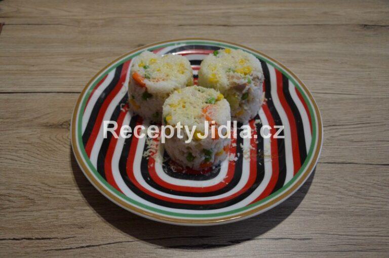 Rizoto s kuřecím masem a zeleninou