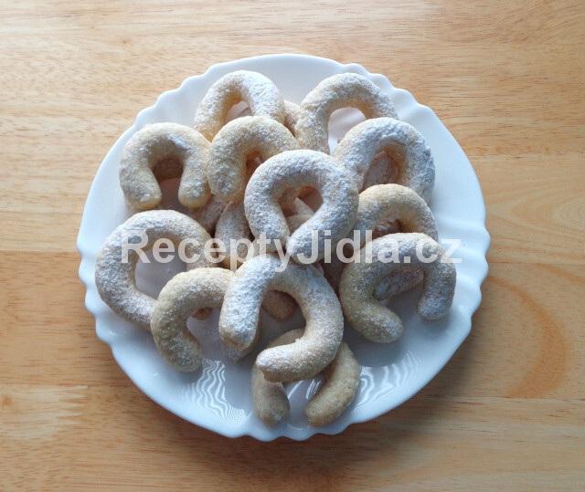 Vanilkové rohlíčky - nejlepší vánoční cukroví