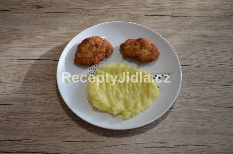 Holandský řízek se sýrem a br. kaší
