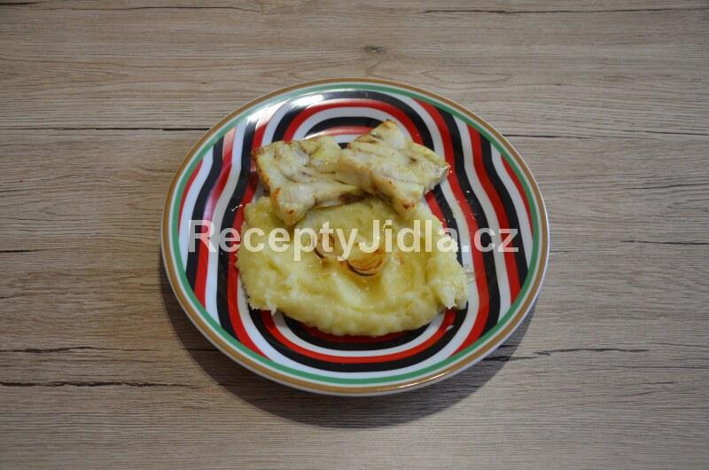 Rybí filé s bramborovou kaší